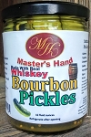 Bourbon Pickles 16oz (In Real Whiskey)